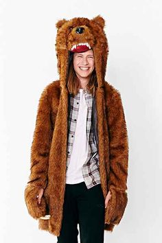 Bear Coat from Workaholics but really for anyone who likes to have fun.
