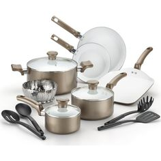 New Traditions 12 Piece Non Stick Cookware Set In 2019