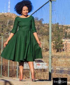 majoress - Off Shoulder African Print Seshweshwe Dress Latest African Fashion Dresses, African Print Dresses, African Dresses For Women, African Print Fashion, Africa Fashion, African Attire, African Wear, African Prints, Nigerian Fashion