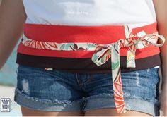 #moda #mulher #roupa #acessorios #presentes #portugal #cintos #faixas | Limited edition: only 20 made | Belt Red hug | Sizes: S/M