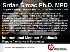 Judiciary | We always welcome the support from our 🌍members | If you believe in our mission to increase the awareness of dispute avoidance + resolution & ensure industry avoids the unnecessary costs of litigation #JoinUs #Global #Judge #Commercial #Court #International #Membership #Law #Legal #RichardSusskind #SudanSimac #Industry #Business #MPD #MemberPrimeDispute #PrimeDispute