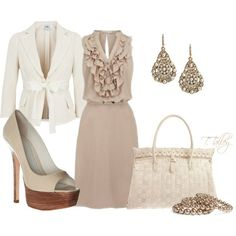 beige #look #style #actu #mode #beaute #tendance #fashion #BelledeJour #BelledeNuit #myfashionlove www.myfashionlove.com