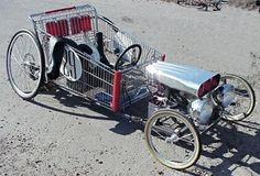 Shopping Cart Go-Kart!
