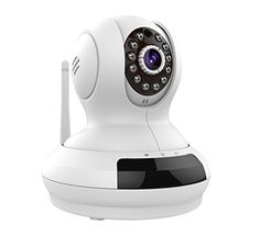 PowerLead Csaf PLS368 Wireless WiFi Cloud Surveillance IP Camera 720P HD Two Way Audio Pan Tilt Motion Detect Night Vision Remote Monitoring IP Camera >>> Check out the image by visiting the link.Note:It is affiliate link to Amazon.
