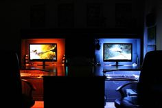 gaming room couple - Google Search