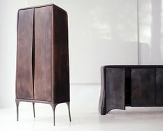 Valentine Loellman is a lovely German designer who caught my eye for three reasons: For poetic and original furniture series The cool. Grey Bedroom Furniture, Iron Furniture, Cheap Furniture, Home Furniture, Furniture Design, Wooden Pallet Furniture, Woodworking Furniture, Handmade Furniture, Interior Design Blogs