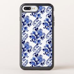 Elegant Chic Dutch Delft Blue Floral Pattern Speck iPhone Case - beauty gifts stylish beautiful cool