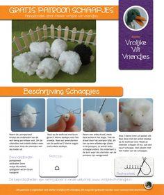 Vrolijke schaapjes | Atelier Vrolijke Vilt Vriendjes