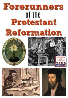 Forerunners of the Protestant Reformation #ReformationDay #ProtestantReformation #historylesson World History Lessons, Teaching History, History Books, Martin Luther Reformation, Renaissance And Reformation, Protestant Reformation, Story Of The World, Church History, Mystery Of History