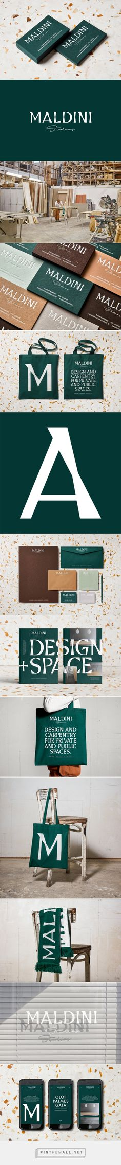 New Graphic Identity for Maldini Studios by Jens Nilsson — BP&O