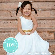 ETSY STORE SPOTLIGHT  10% off @mialorenboutique ! One of our favorite ETSY STORES ! Use Code DIYWEDDINGPLANNER  https://www.etsy.com/shop/MiaLorenBoutique Simply adorable flower girl dresses & Bridal Party attire.  #flowergirl #flowergirldress #bowties #groom #groomsmen #neckties #etsystore #storespotlight #dapper #shopetsy #etsyshop #vendors #discount