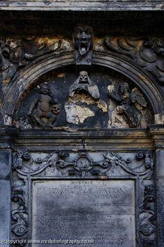 Skull gravestones - Edinburgh