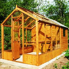 greenhouse from a shed | ABTP combination greenhouse sheds in Sheffield and Chesterfield.