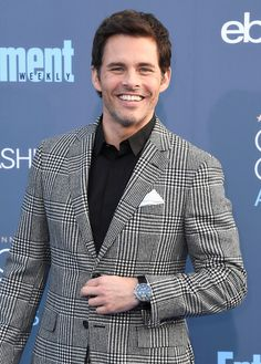 Actor James Marsden attends the 22nd Annual Critics' Choice Awards.