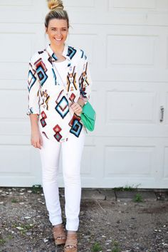 Tribal prints are on trend for this season!