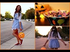 """Adorable Dorothy DIY Costume! + Glitter your shoes!""  seriously i just found a cute, easy to make, APPROPRIATE teen costume. THANK GOD"