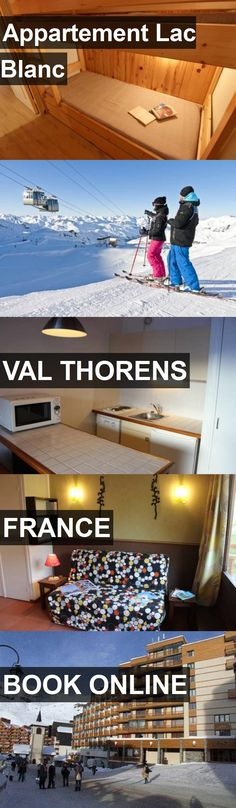 Hotel Appartement Lac Blanc in Val Thorens, France. For more information, photos, reviews and best prices please follow the link. #France #ValThorens #travel #vacation #hotel