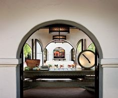 Colonial Spanish Archway Patio