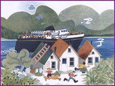 Fine Artist - Rie Munoz - Haystack Gallery - Cannon Beach Oregon