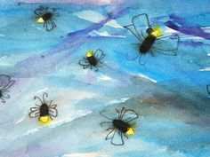 Toddler Approved!: Crayon Relief Fireflies