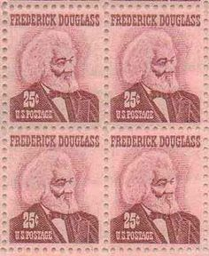 Frederick Douglas Set of 4 x 25 Cent US Postage Stamps NEW Scot 1290 . $34.15…