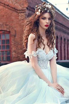 galia lahav spring 2016 bridal dresses off the shoulder sweetheart neckline corset emebroidered bodice wedding ball gown dres cinderella closeup -- Galia Lahav Bridal Spring 2016 Wedding Dresses 2016 Wedding Dresses, Bridal Dresses, Wedding Gowns, Flower Girl Dresses, Prom Dresses, Dresses 2016, Wedding Dress Blue, Wedding Bride, Lace Wedding