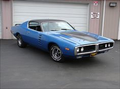 Mine was Petty Blue w/White Halo vinyl top & White Pinstripes...Loved Her!!!     '72 Dodge Charger