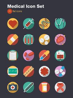 Medical Icons Set on Behance