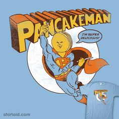 Pancakeman #breakfast #food #pancakes #superhero