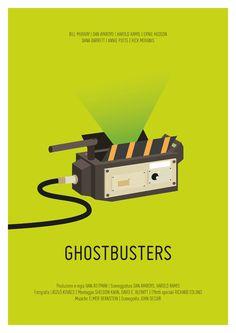 Minimal Movie Poster by Chiara Tovazzi, via Behance