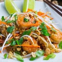 Noodleless Shrimp Pad Thai Recipes
