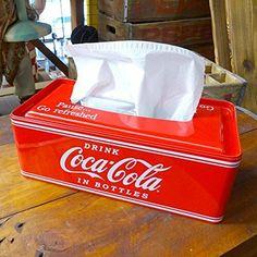 Coca-cola Can Tissue Box Ships from Japan - Coca Cola - Ideas of Coca Cola - Ideas of Coca Cola - Coca-cola Can Tissue Box Ships from Japan Coca Cola Drink, Pepsi, Coca Cola Cake, Coca Cola Decor, Coca Cola Kitchen, Coke Machine, Always Coca Cola, World Of Coca Cola, Point Of Purchase