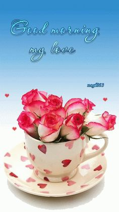 Good Morning Friends, Roses For You morning good morning morning quotes good morning quotes good morning friend quotes good morning greetings Good Morning Coffee, Good Morning Sunshine, Good Morning Friends, Good Morning Good Night, Morning Wish, Good Morning Images, Good Morning Quotes, Morning Morning, Weekend Quotes