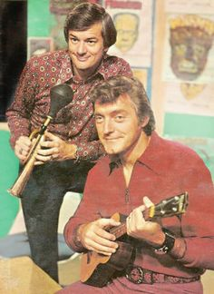 photo of Hoolihan And Big Chuck who were the hosts of a late night show in Cleveland that showed funny bad movies from 1966 until 1979 when Hoolihan left the Cleveland area and Lil John went on to host the show with Big Chuck. Pat Schwab