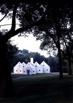 Jacobsen Architecture, LLC Space Architecture, Architecture Details, Skyrim House, Facade Design, House Design, Nantucket Cottage, Faia, Barbie Dream House, Dream House Plans