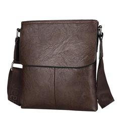 New Men Messenger Bag British Style Fashion Travel Shoulder Casual Office Bag Ipad Bag, Current Fashion Trends, Messenger Bag Men, British Style, Leather Bag, Gym Bag, Satchel, Shoulder Bag, Shoulder Bags
