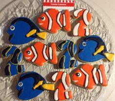 Nemo Cookies Finding Nemo Birthday Cookies