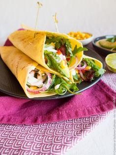Tortilla sans gluten pour délicieux repas mexicain. Recette conçue pour Ma Vie Sans Gluten