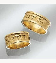 jewish wedding dodi rings - Hebrew Wedding Rings