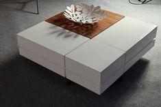 Centre Table Design, Sofa Table Design, Coffee Table Design, Cool Coffee Tables, Coffe Table, Centre Table Living Room, Central Table, Table Cafe, Living Room Modern