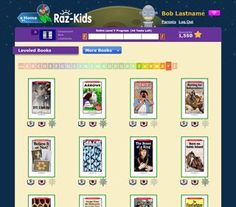 Raz-Kids delivers hundreds of interactive, leveled eBooks spanning 27 levels. (Learning A-Z) Kids Reading, Guided Reading, Teaching Reading, Educational Websites, Educational Technology, Technology Tools, Reading Resources, Teacher Resources, Raz Kids