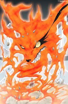 Naruto and Kurama Naruto Vs Sasuke, Naruto Uzumaki Shippuden, Sakura E Sasuke, Naruto Anime, Wallpaper Naruto Shippuden, Naruto Cute, Naruto Wallpaper, Nine Tailed Fox Naruto, Naruto Nine Tails