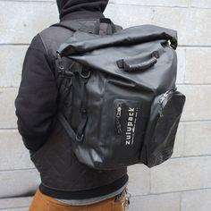 Zulu 35L DryBag, Black at Town Moto