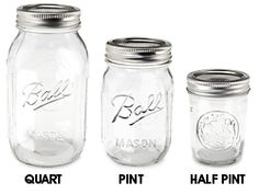 Cheap jars and other stuff.