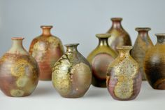 Various Sake Flasks