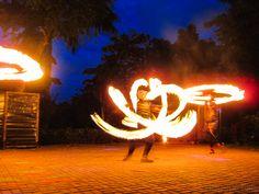 The Tribu K'Mindanawan fire dancing show