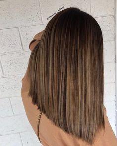 Brown Hair Balayage, Blonde Hair With Highlights, Brown Blonde Hair, Light Brown Hair, Hair Color Balayage, Color Highlights, Light Brunette Hair, Dark Brown, Balayage Straight Hair