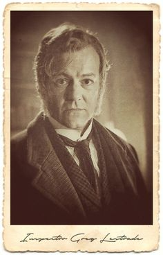 The Abominable Bride character portraits - Inspector Greg Lestrade