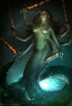 Maralith Demon by Straban