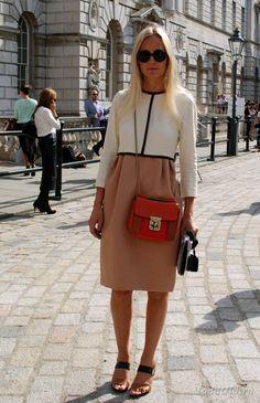 Уличная мода: Уличная мода разных стран осень 2012